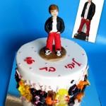 Justin Beber cake
