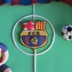 עוגת ברצלונה - סמל