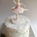 עוגת בצק סוכר - בלרינה