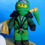נינג'גו ירוק מבצק סוכר/Green Fondant Ninjago topper