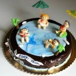 עוגה מעוצבת למסיבת סיום בגן (ללא ציפוי בצק סוכר)