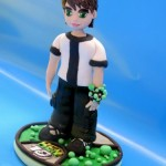 Fondant Ben10 for a cake
