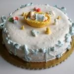 עוגה מעוצבת לתינוק