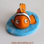 דג נמו מבצק סוכר