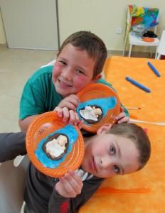 סדנת בצק סוכר בקייטנת פסח: פיסול משה בתיבה