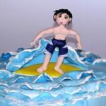 ילד על גלשן ים