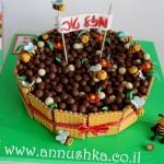 עוגת ראש השנה עם סוכריות קליק