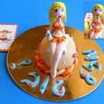 עוגה אישית לגבר