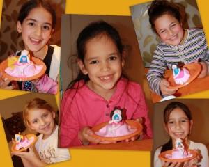 סדנת בצק סוכר ביום הולדת של נעמה