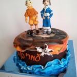Avatar fondant cake