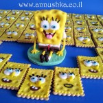 Spongebob fondant topper