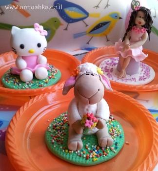 הפעלת בצק סוכר לימי הולדת (בנות 6-10)