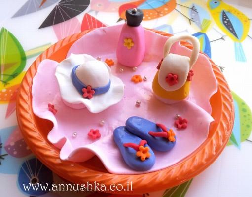 הפעלת בצק סוכר לימי הולדת נערות