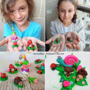 עיצוב בפימו (חימר פולמרי) לילדים
