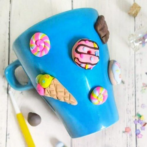 ערכת יצירה - כוס ממתקים מפימו