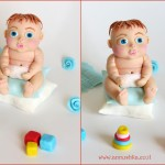 בובת תינוק מבתק סוכר