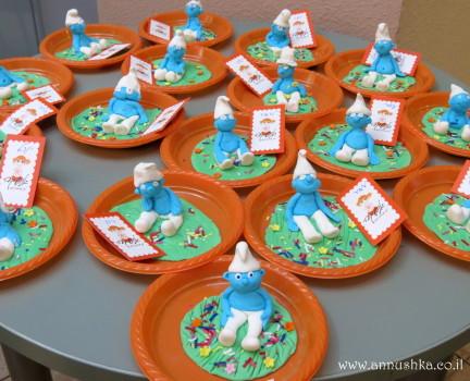 סדנת דרדסים מבצק סוכר בקייטנה