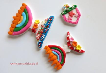 סדנאות בצק סוכר לחנוכה