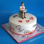 עוגת יום הולדת לילד שאוהב משחקי מחשב