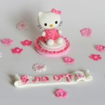 ערכה לקישוט עוגה - הלו קיטי