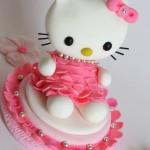 הלו קיטי מבצק סוכר/Hello Kitty
