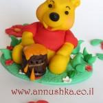 Fondant cake decoration set - Winnie the Pooh