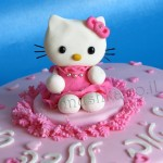 Hello Kitty fondant cake/עוגה מעוצבת הלו קיטי