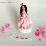 Princess fondant topper