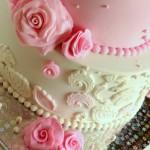 עוגת בת מצווה בצק סוכר