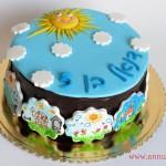 עוגת יום ההולדת לגן