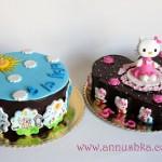 עוגות מעוצבות לתאומים בני 5