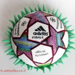 Champions league ball topper