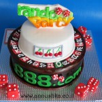 Fondant Casino cake