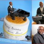 עוגה מעוצבת ליום הולדת 85