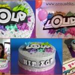 עוגה מעוצבת לאירוע פתיחה של סטודיו LOUD