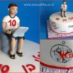 עוגת יום הולדת לילד שאוהב משחק מחשב