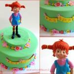 עוגת יום הולדת עם דמות של בילבי