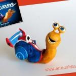 Turbo fondant topper