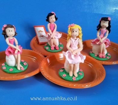 הפעלת בצק סוכר לימי הולדת (בנות 9-10)